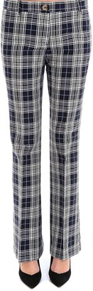 Tommy Hilfiger Flared Check Trousers