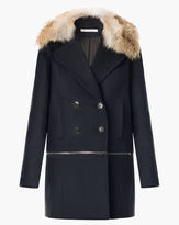 Veronica Beard Antares Convertible DB Coat