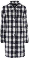 A.P.C. Poupee checked wool-blend coat