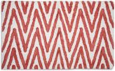 Bed Bath & Beyond Berros Bath Rug in Coral/White
