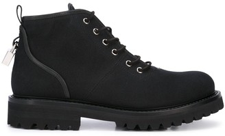 Buscemi Lace-Up Ankle Boots