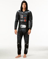 Briefly Stated Star Wars Men's Darth Vader Hooded One-Piece Pajamas from