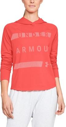 Under Armour Women's UA Pindot Hoodie-Graphic