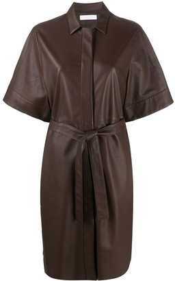 Fabiana Filippi Belted Shirt Dress
