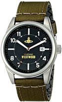 Vivienne Westwood Men's VV079BKGR Butlers Wharf Analog Display Swiss Quartz Green Watch