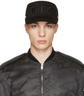 Kokon To Zai Black Flat Cap