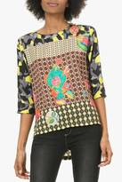 Desigual Boho Chic Pullover Blouse