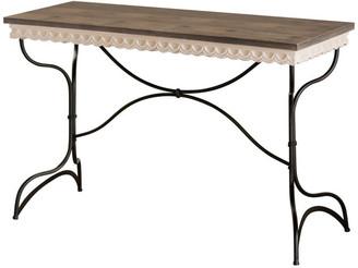 American Mercantile Metal and Wood Table