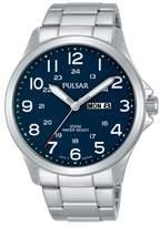Pulsar - Men's Silver Analogue Bracelet Watch Pj6095x1