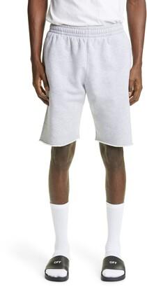 Off-White Marker Stripe Sweat Shorts