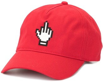 Mostly Heard Rarely Seen 8 Bit Middle Finger baseball cap