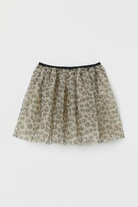 H&M Flared tulle skirt