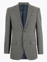 Marks and Spencer Regular Wool Blend Jacket