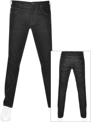Giorgio Armani Emporio J45 Regular Fit Jeans Black