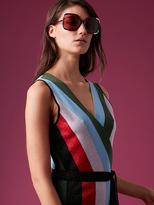 Diane von Furstenberg Oversized Sunglasses