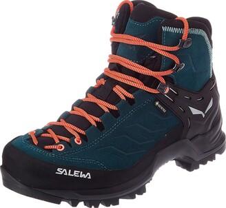 Salewa WS Mountain Trainer Mid Gore-TEX Trekking & hiking boots Women's Blue (Atlantic Deep/Ombre Blue) 3 UK