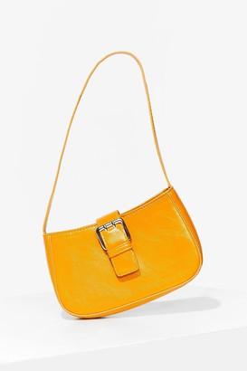 Nasty Gal Womens WANT Go Buck-le Yourself Shoulder Bag - Orange - ONE SIZE, Orange