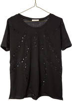 Ragdoll LA LACE CUT-OUT TEE Black