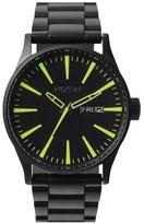 Nixon 'Sentry' Bracelet Watch, 42mm