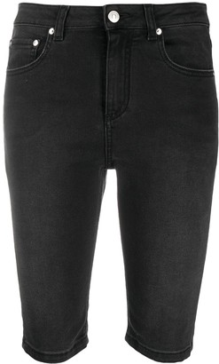 MSGM Cycling-Style Denim Shorts