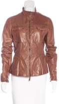 Henry Beguelin Leather Zip Jacket