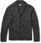 Club Monaco Shawl-Collar Cable-Knit Cardigan