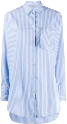Mrz Striped Print Shirt