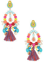 Anna & Ava Amelia Statement Tassel Drop Earrings