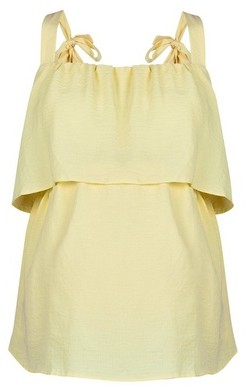 Dorothy Perkins Womens Dp Maternity Yellow Nursing Camisole Top, Yellow