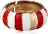 "Amrita Singh Resort"" Red Moma Cuff Bracelet"