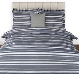 Gant Log Stripe Duvet Cover - Midnight Blue - Double