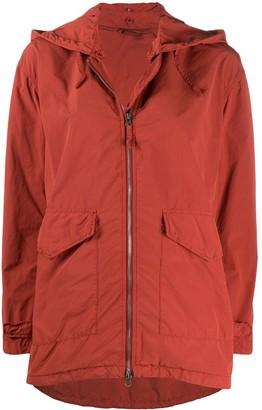 Aspesi Hooded Oversized Jacket