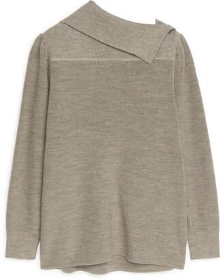 Arket Cotton Wool Jumper