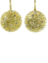 Yossi Harari Round Lace Earrings