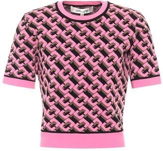 Diane von Furstenberg April jacquard knit sweater