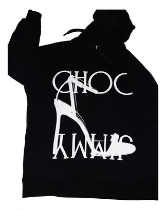 Jimmy Choo Black Cotton Knitwear
