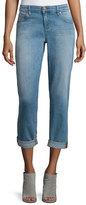Eileen Fisher Stretch Boyfriend Jeans, Faded Blue, Plus Size