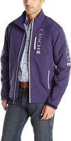 Cinch Men's Concealed Carry Blue Bonded Softshell Jacket with Embroidered Logos