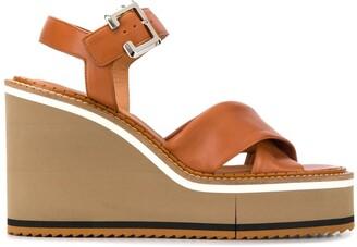 Clergerie Noemie 115mm platform sandals