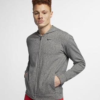 Nike Men's Full-Zip Yoga Training Hoodie Dri-FIT