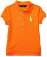 Ralph Lauren Embroidered Polo, Toddler Girls (2T-5T) & Little Girls (2-6X)