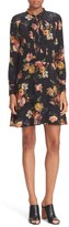 The Kooples Women's Floral Print Silk Dress