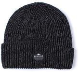 Penfield Twist Black Reflective Knitted Beanie