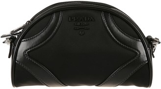 Prada Zip-around Shoulder Bag