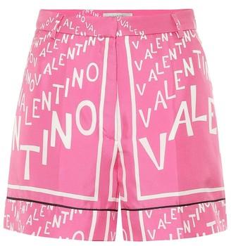 Valentino Exclusive to Mytheresa Printed silk shorts