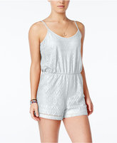 Ultra Flirt Juniors' Lace Romper