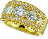 Giani Bernini Cubic Zirconia Ring in 18k Gold-Plated Sterling Silver, Created for Macy's