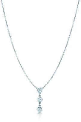 Tiffany & Co. Elsa Peretti Diamonds by the Yard drop pendant in sterling silver