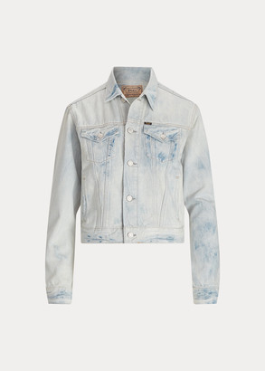 Ralph Lauren Bleached Denim Trucker Jacket