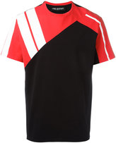 Neil Barrett colour block T-shirt - men - Cotton - M